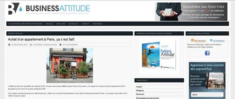 interview du blogueur Cédric Annicette du blog Busniess Attitude