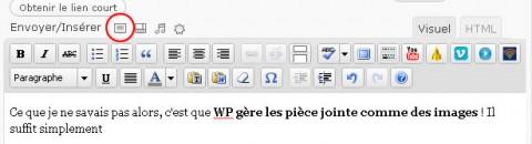wordpress gère les pdf comme des images