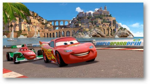 Lighting McQueen CARS 2