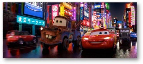 Martin et Flash McQuenn Cars2