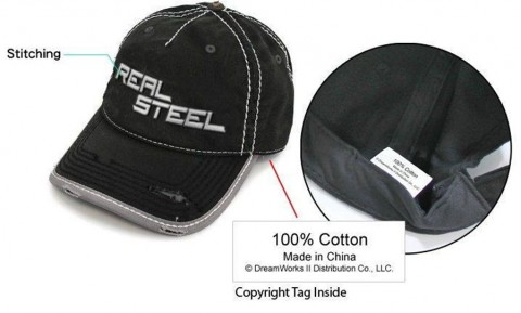 Casquette Real Steel
