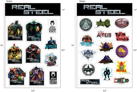 Stickers Real Steel