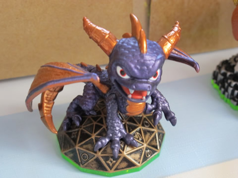 dragin spyro skylanders video games Papa teste : Skylanders, Spyros Adventure sur Wii