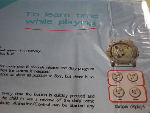 méthode apprentissage heure enfant