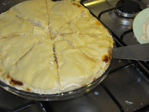pizza calzone part