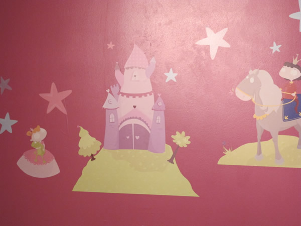 sticker chambre princesse