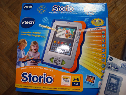 tablette éducative multimedia storio