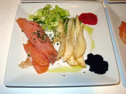 saumon à la poire