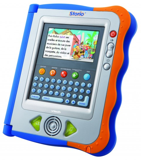 Tablette multimedia Storio version bleue