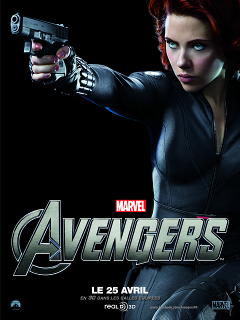The Avengers, Avril 2012 : BLACK WIDOW