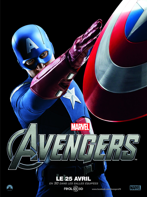 The Avengers, Avril 2012 : CAOTAIN AMERICA