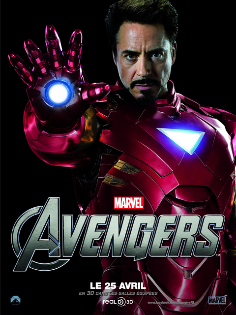 The Avengers, Avril 2012 : IRON MAN