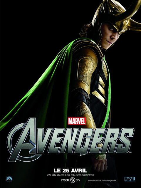 The Avengers, Avril 2012 : LOKI