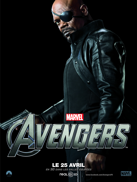 The Avengers, Avril 2012 : NICK FURY