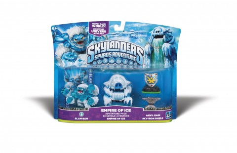 nouveau pack skylanders Empire of ice