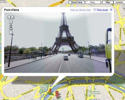 Paris Google Street View