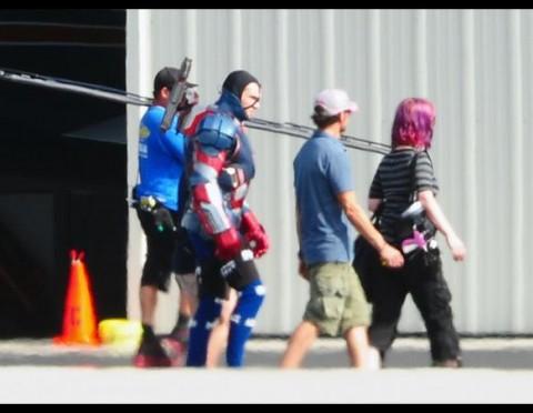 image tournage film iron man 3