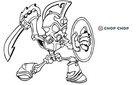 personnage skylanders à imprimer et colorier, coloriage skylanders gratuit