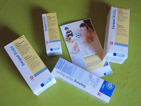crème dermo pédiatrique excipial kids des laboratoires spirig