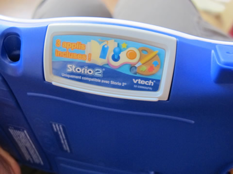 applications et cartouches de la Sotrio2 de VTech