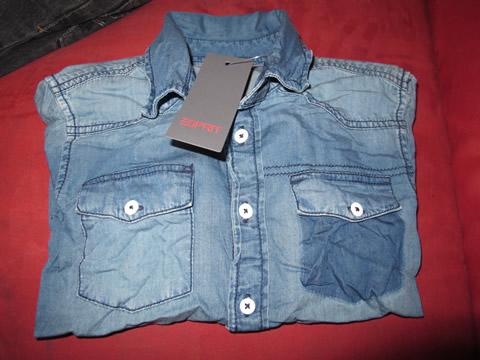 chemise blue denim d'ESPRIT