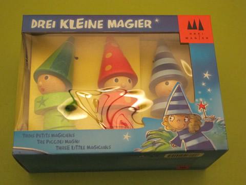jouets en bois Gigamic 3 petits magiciens