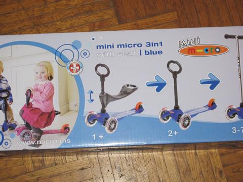Mini Micro Kick 3 évolutive par MICRO Mobility