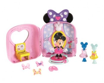 boutique transportable de minnie par mattel