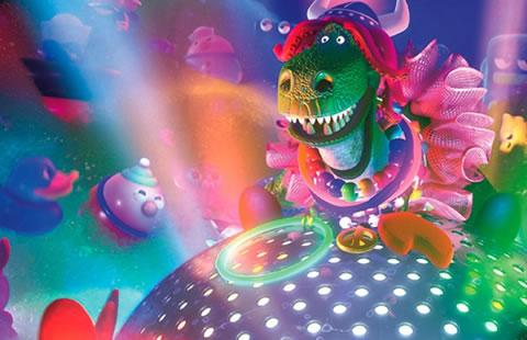 rex party saurus pixar
