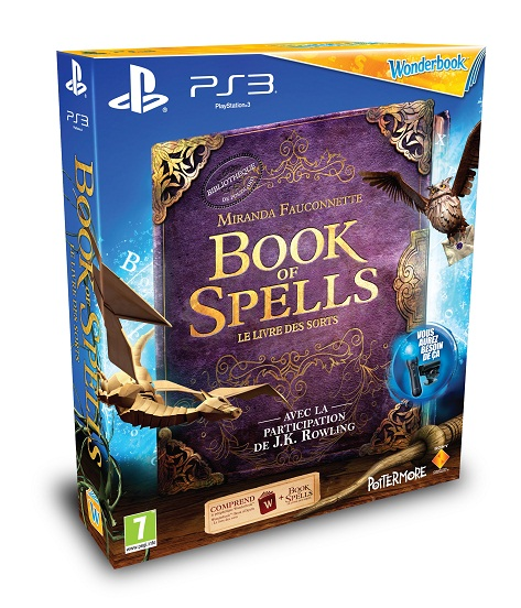jeu ps3 book of spells