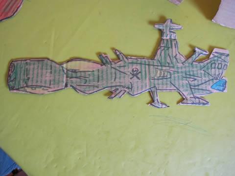 atlantis albator carton