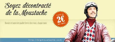 service en ligne de livraison de rasoir à domicile pour homme : BIG MOUSTACHE