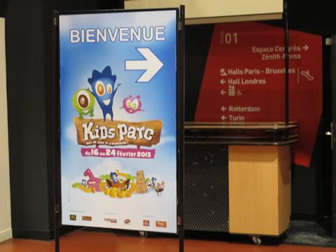kids parc grand palais lille 2013