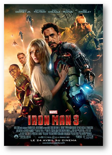 affiche film iron man 3