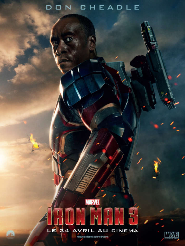 the patriot james rhoddes iron man 3