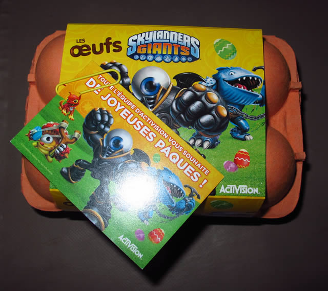 oeufs skylanders giants