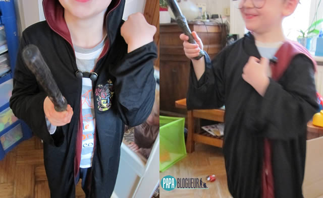 robe gryffondor harry potter