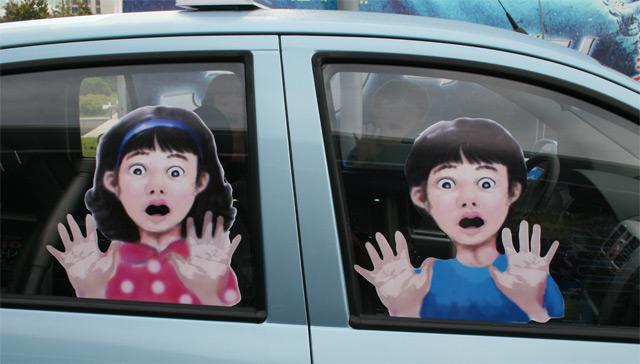 distraires le enfant sur la route des vacances