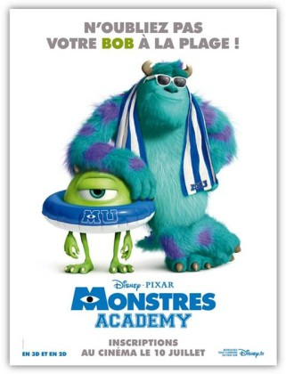 monstres academy affiche