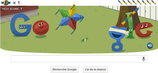 Google : record bonbons
