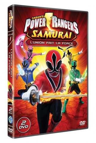 power rangers samurai : l'union fait la force