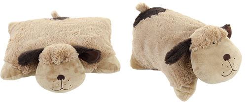 chiot calin pillow pets
