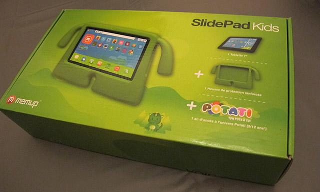 tablette pour enfant memup