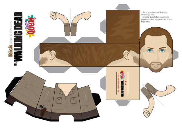 papertoys-the-walking-dead