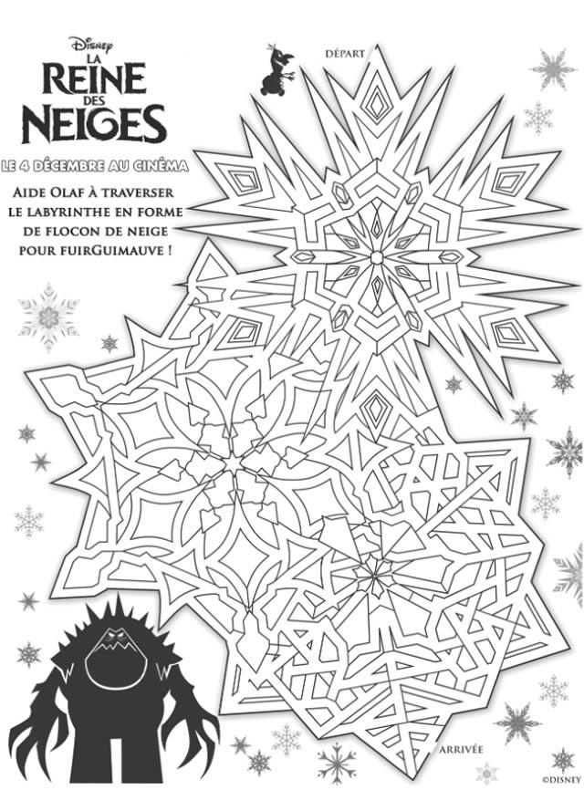 Coloriage la reine des neige disney - Image de reine des neige ...