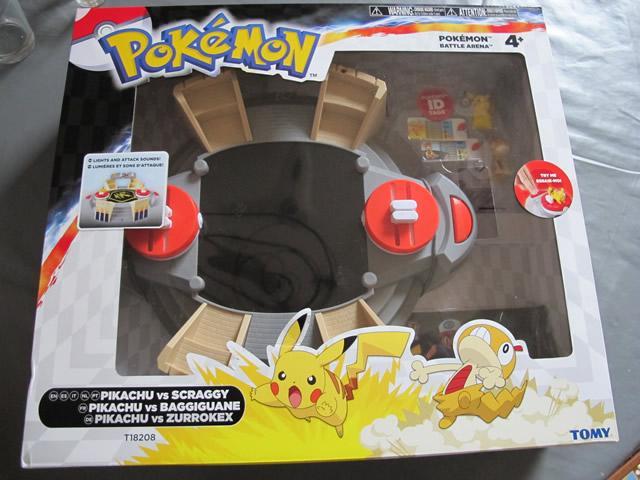 arène de combat pokemon tomy
