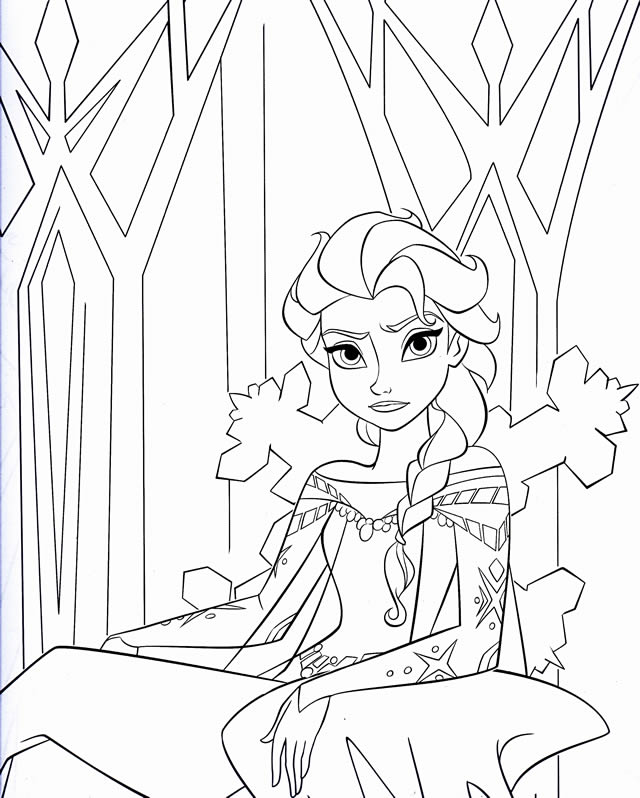 coloriage-reine-des-neiges-disney