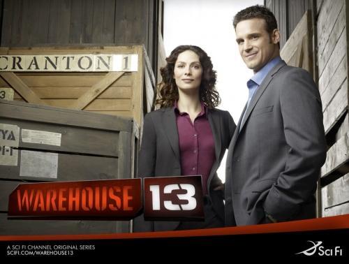 série télé warehouse 13