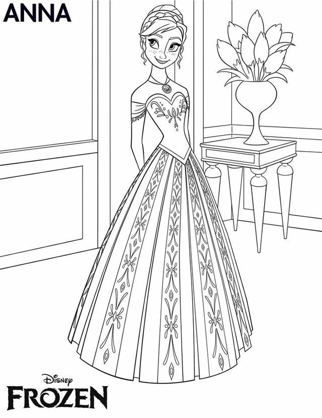 coloriage-anna-frozen