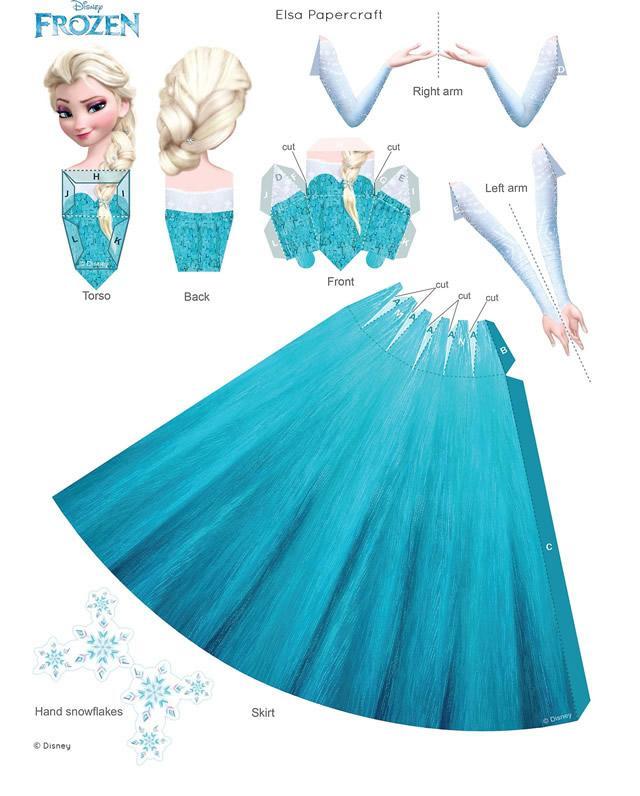 papercarft-frozen-elsa-1